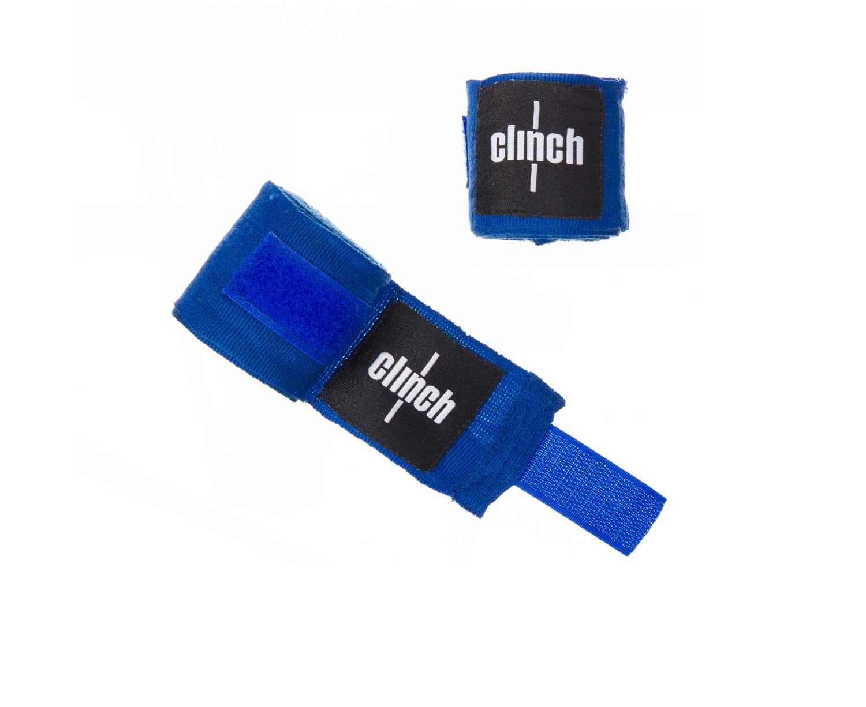 Бинт боксерский Clinch Boxing Crepe Bandage Punch, синий
