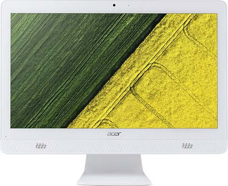 Моноблок Acer Aspire C20-820, DQ.BC6ER.005, 19.5, белый моноблок acer aspire c20 720 dq b6zer 009 белый