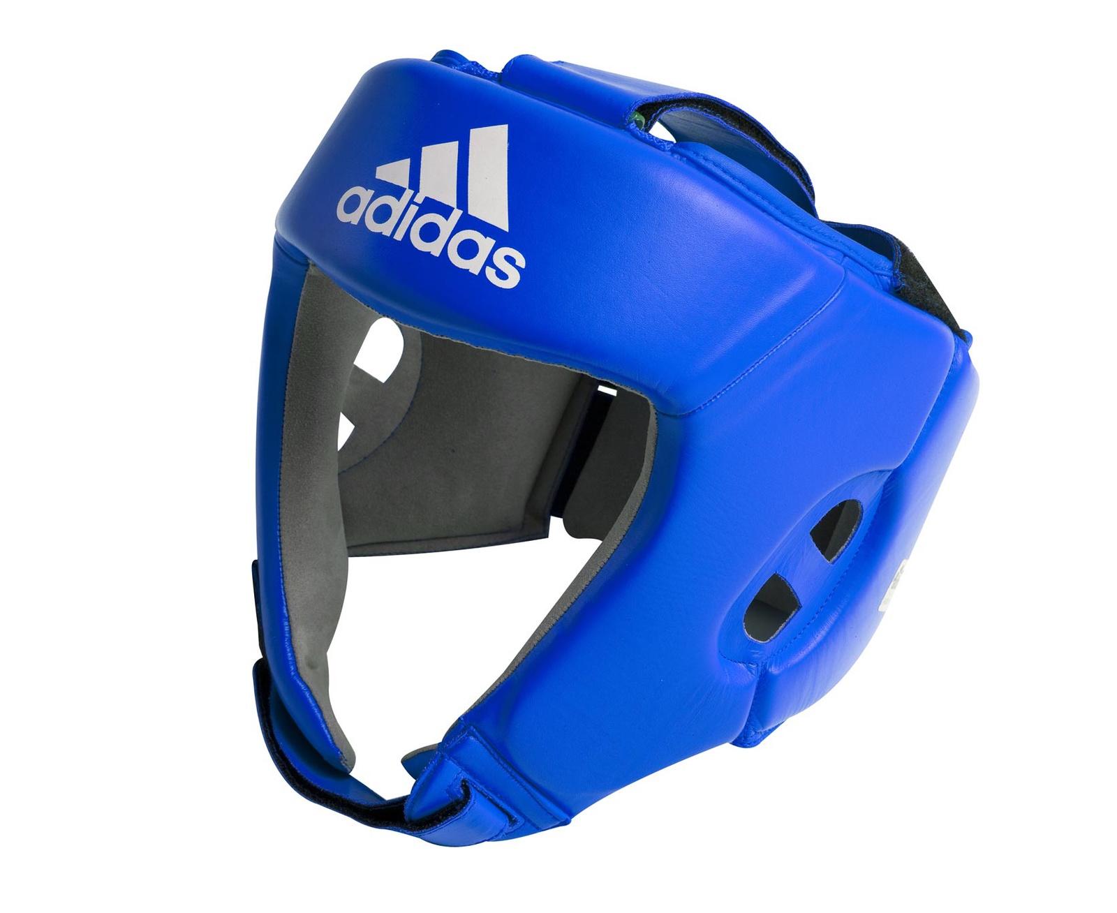 Шлем боксерский Adidas Aiba, синий все цены