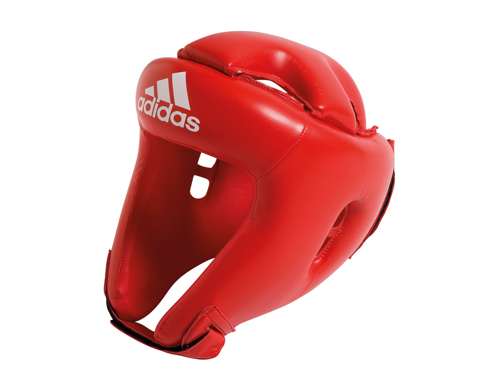 Шлем боксерский Adidas Competition Head Guard, красный цена