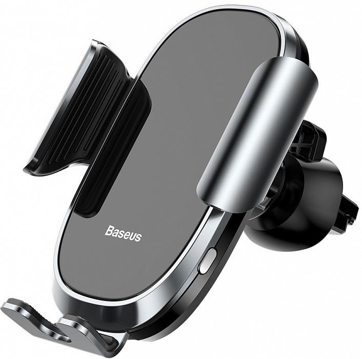 Держатель для телефона Baseus Smart Car Mount Cell (SUGENT), серебристый