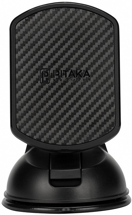 Держатель для телефона Pitaka MagMount Suction Pro, черный