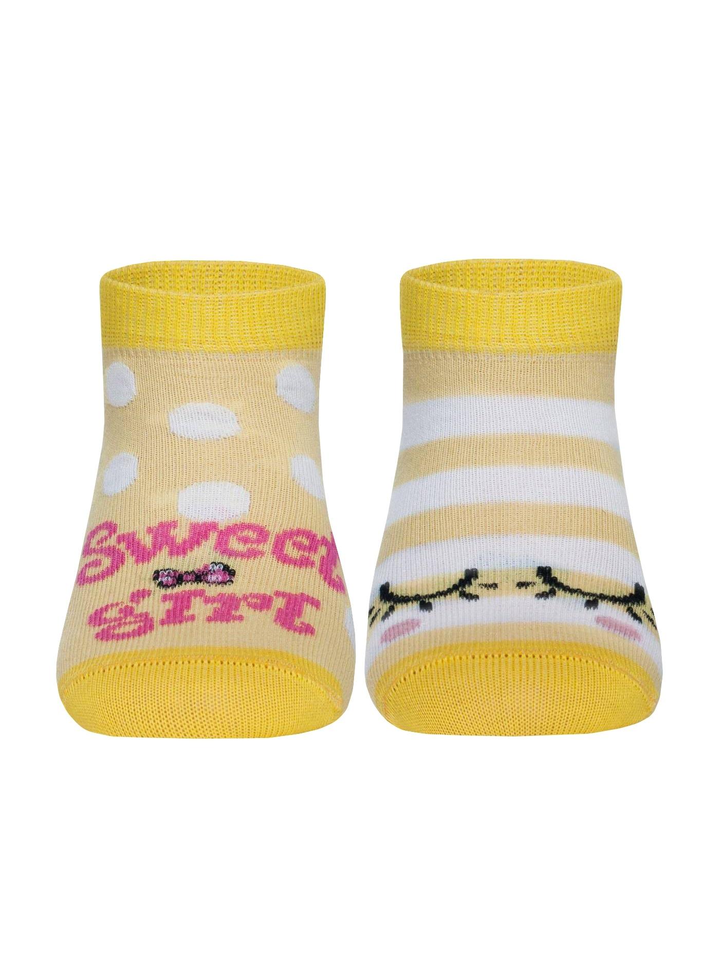 Носки носки детские soxo черепашка цвет бежевый 84858 размер 19 21