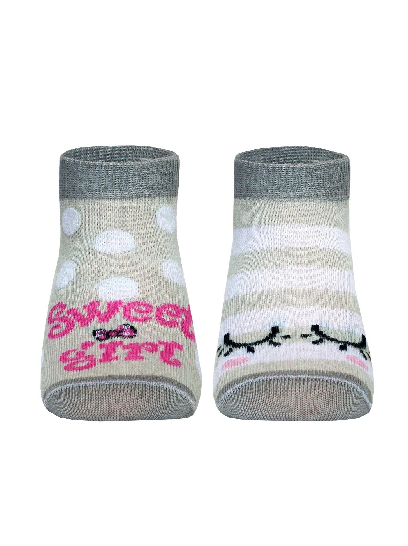 Носки носки детские soxo цвет зеленый голубой 76990 размер 19 21