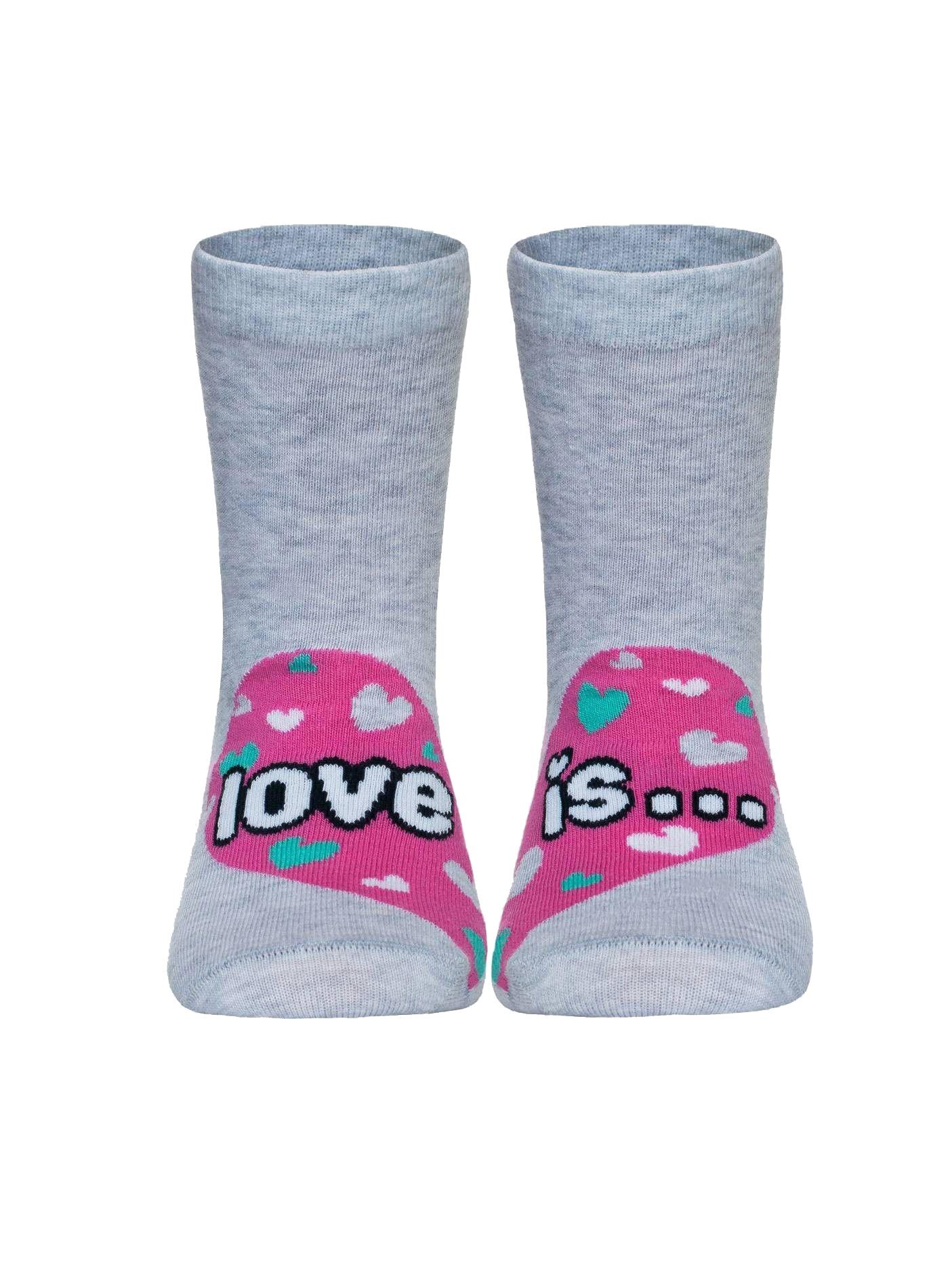 Носки Conte Kids носки детские soxo цвет темно серый 77805 5 размер 16 18