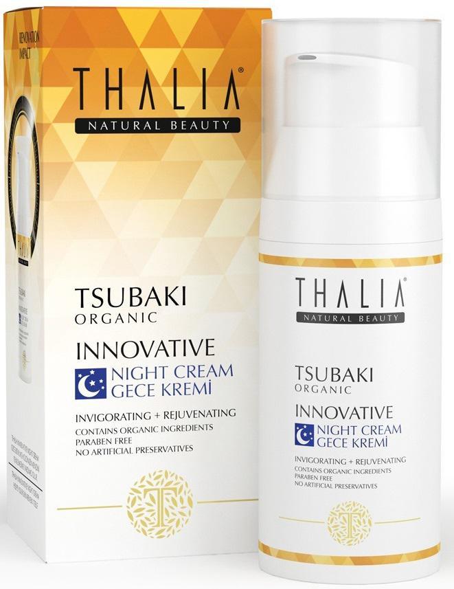 Ночной крем по уходу за кожей на основе масла цубаки Thalia, 50 мл Thalia