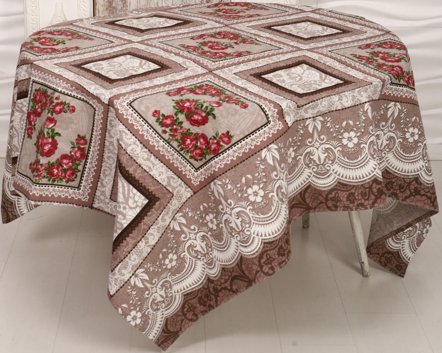 Скатерть Текстильная лавка Ск_Р_150_6 скатерть из 100