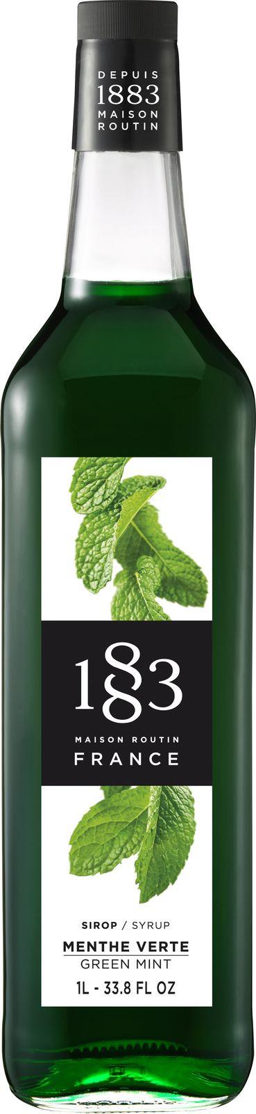 Сироп 1883 Maison Routin Зеленая мята, 6 шт х 1 л
