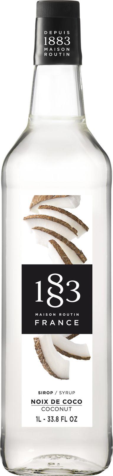 цена на Сироп 1883 Maison Routin Кокос, 6 шт х 1 л