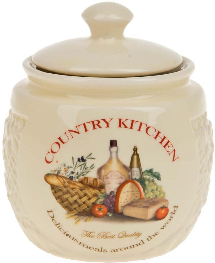 Сахарница Polystar Country Kitchen, цвет: бежевый, 450 мл сахарница 450 мл polystar сахарница 450 мл
