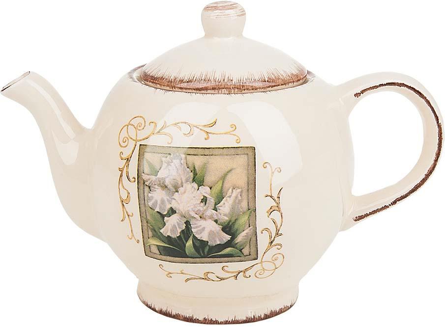 Чайник заварочный ENS Group Розовый ирис, 1,26 л чайник заварочный ens персиковая роза 1 л