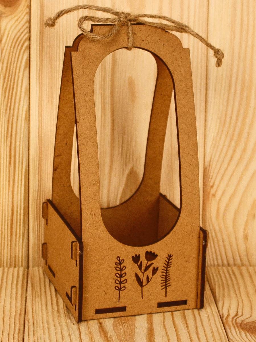 Подарочная упаковка Мастер Дизайн ПУ460001700, коричневый подарочная упаковка мастер дизайн пу385001700 коричневый