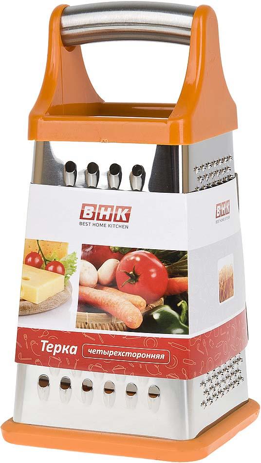 """Терка Best Home Kitchen """"Апельсин"""", четырехсторонняя, 10,5 х 10,5 х 21 см"""