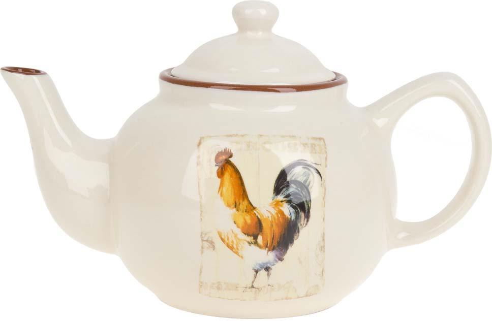 Чайник заварочный ENS Group Золотой петушок, 1,5 л чайник заварочный ens персиковая роза 1 л