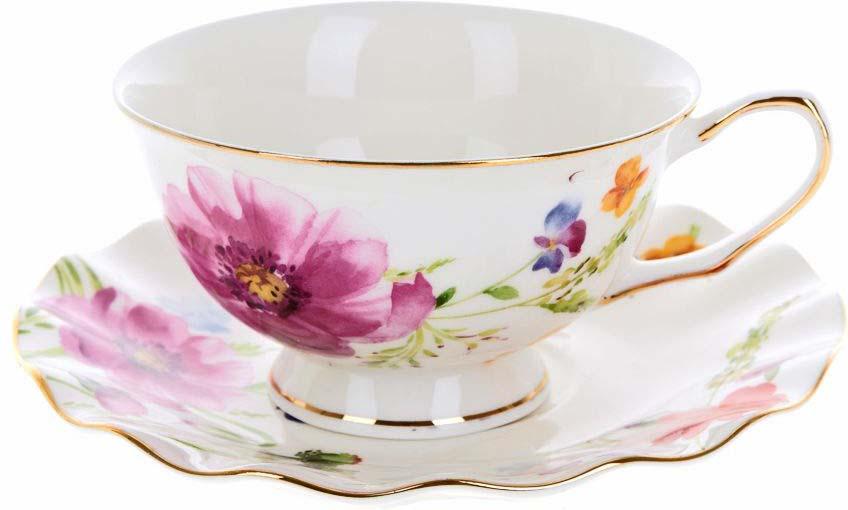 Набор чайный Best Home Porcelain Summer Day, 220 мл, 2 предмета800162Станет идеальным и незаменимым предметом сервировки для любого стола! Каждое изделие сочетает в себе оригинальность и изысканность.