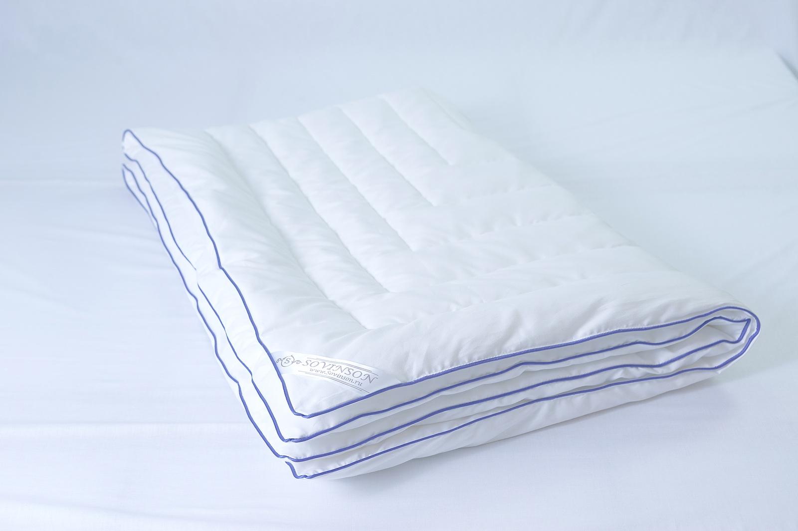 Одеяло sovinson Soft Silk, белый одеяло sovinson soft silk белый