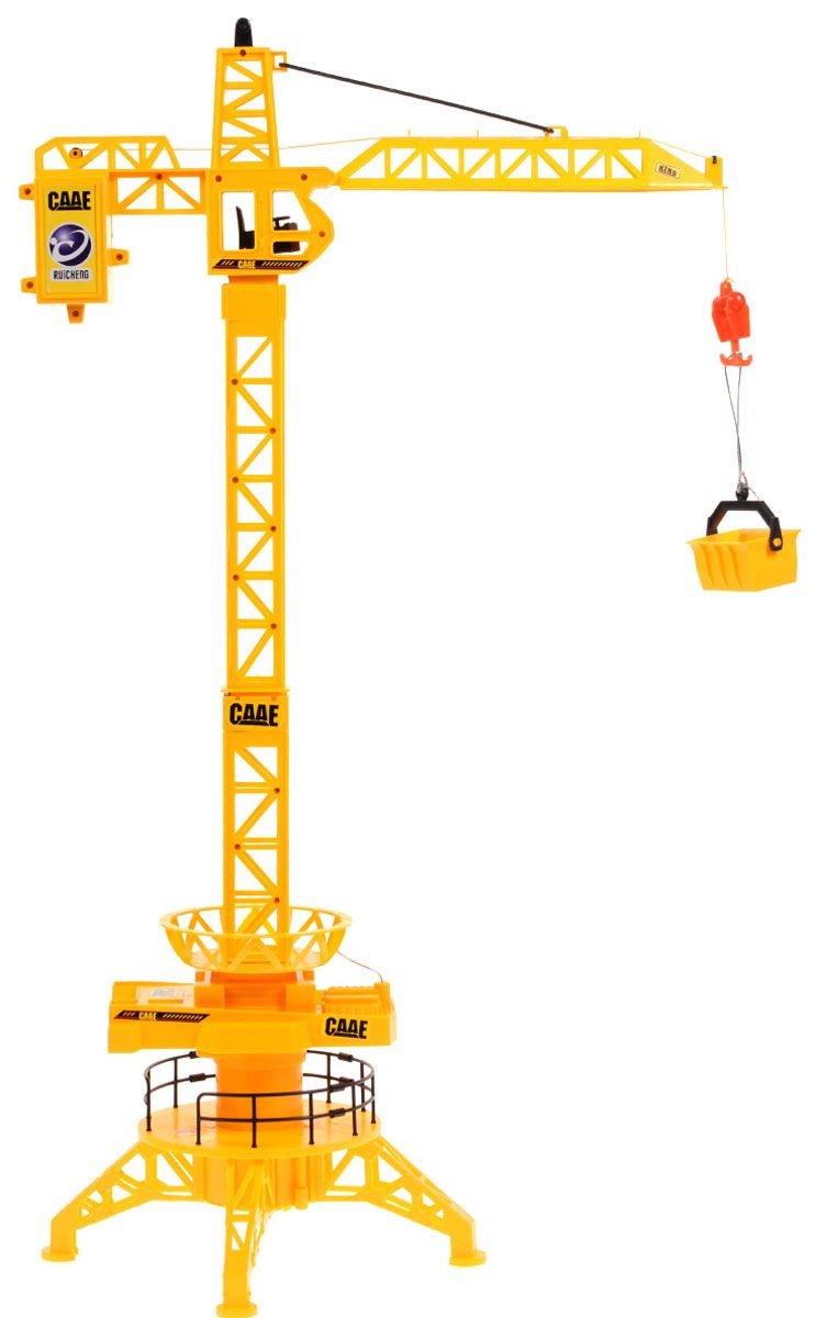 Игрушка радиоуправляемая Balbi RCW-686 желтый balbi экскаватор гусеничный на дистанционном управлении цвет желтый