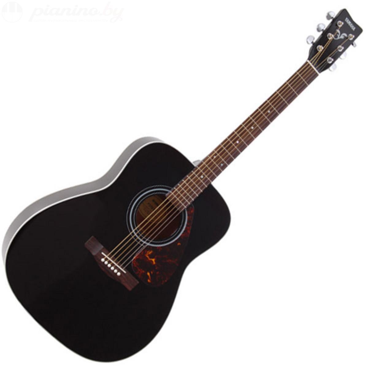 Акустическая гитара YAMAHA F370 BLACK цена