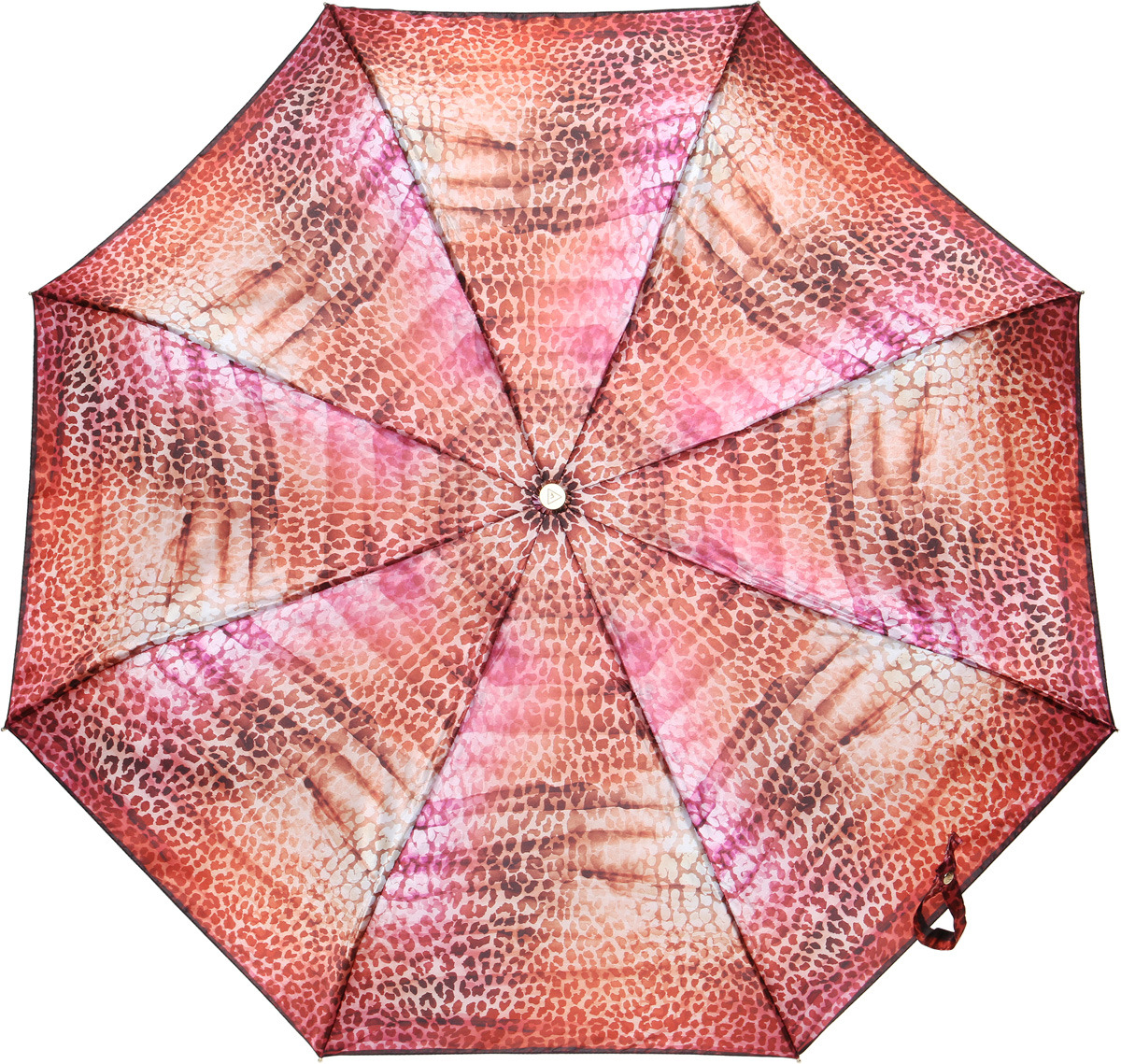 Зонт женский Fabretti, суперавтомат, 3 сложения, цвет: разноцветный. L-18115-10