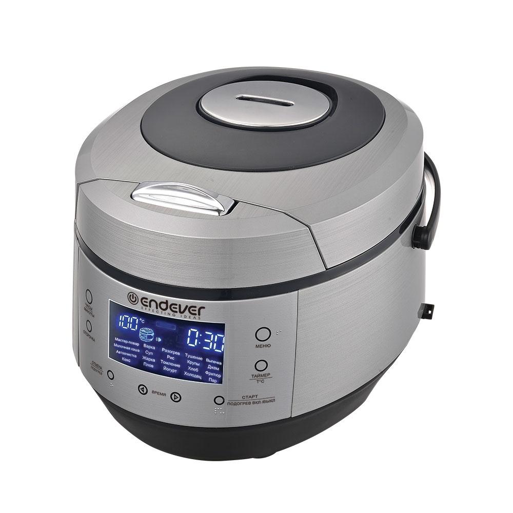 Мультиварка Endever Vita 120, серый металлик