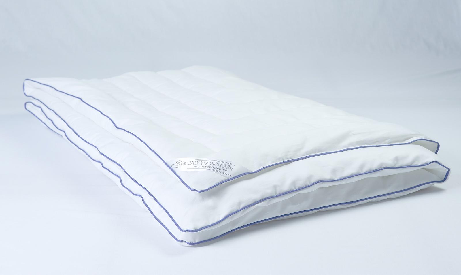 Одеяло Sovinson Soft Silk, белый silk place одеяло детское silk place 110х140 см шелк хлопок 650 г белый wz j7nfz