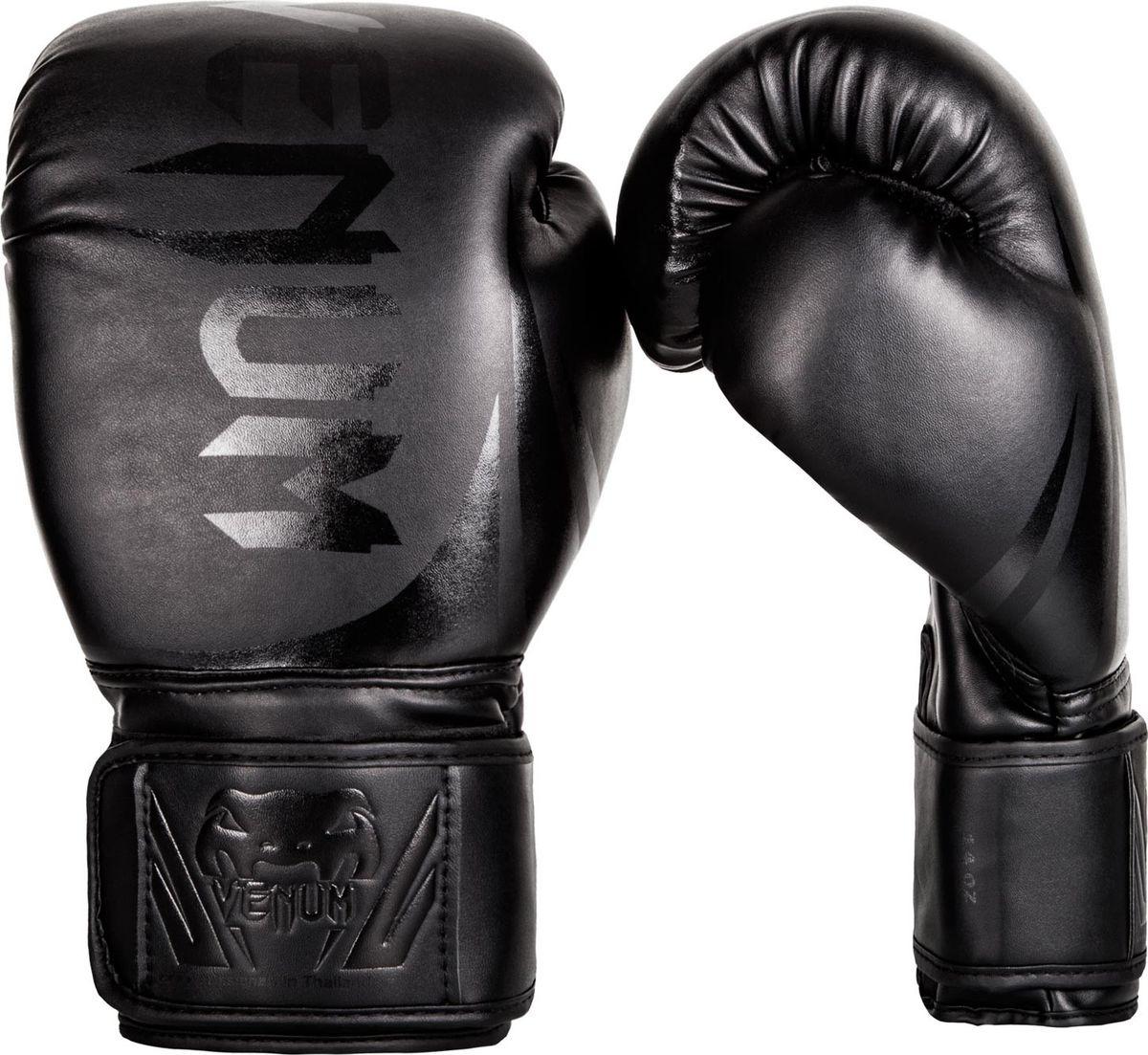 Боксерские перчатки Venum Challenger 2.0, черный, вес 10 унций