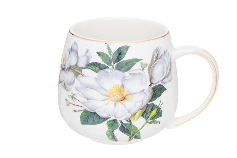Кружка Elan Gallery Белый шиповник, белый, зеленый730640Кружка серии «Белый шиповник» объемом 170 мл выполнена из высококачественного фарфора. Нежная расцветка, золотой узор и отменное качество делают эту кружку прекрасным подарком. Удобная ручка и изящная форма сделают эту кружку любимой и чай или кофе покажется ароматнее и насыщеннее! В серии «Белый шиповник» представлены наборы розеток, кружки, заварочные кружки с металлическим ситом, чайные пары и чайные сервизы, а так же множество изящных и качественных предметов сервировки, что позволит собрать красивый и функциональный сервиз на все случаи жизни.