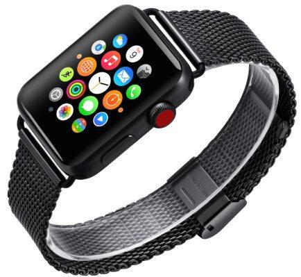 Фото - Ремешок для смарт-часов COTEetCI W23 для Apple Watch/Series 2/3/4 42/44mm, черный портфели wenger w23 08bl