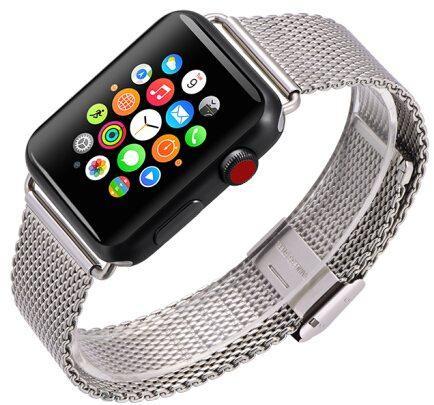 Фото - Ремешок для смарт-часов COTEetCI W23 для Apple Watch/Series 2/3/4 42/44mm, серебристый портфели wenger w23 08bl