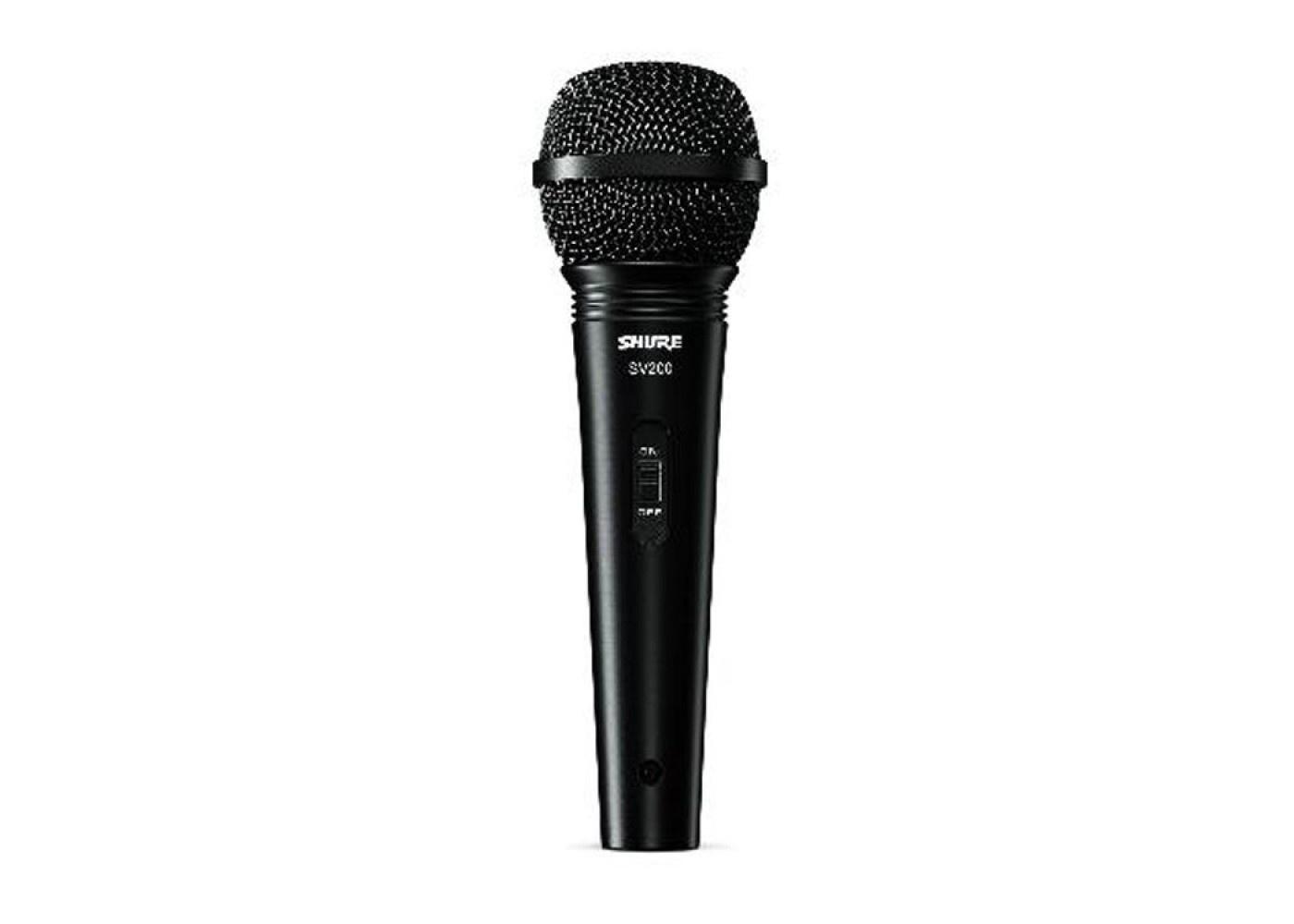 Микрофон SHURE SV200-A, черный микрофон shure sv 100 a