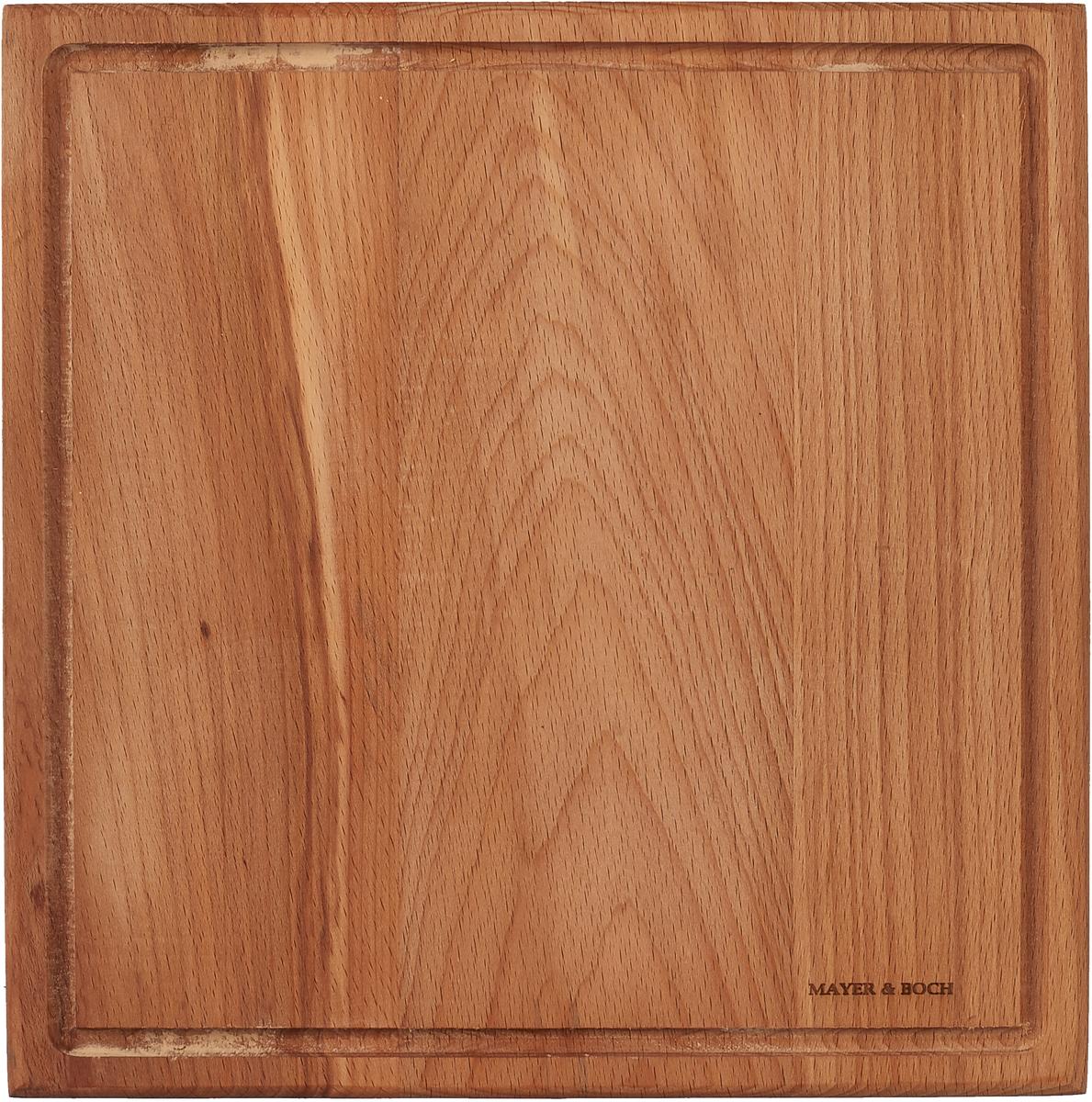 цена на Разделочная доска Mayer & Boch, 40026, коричневый, 25 х 25 см