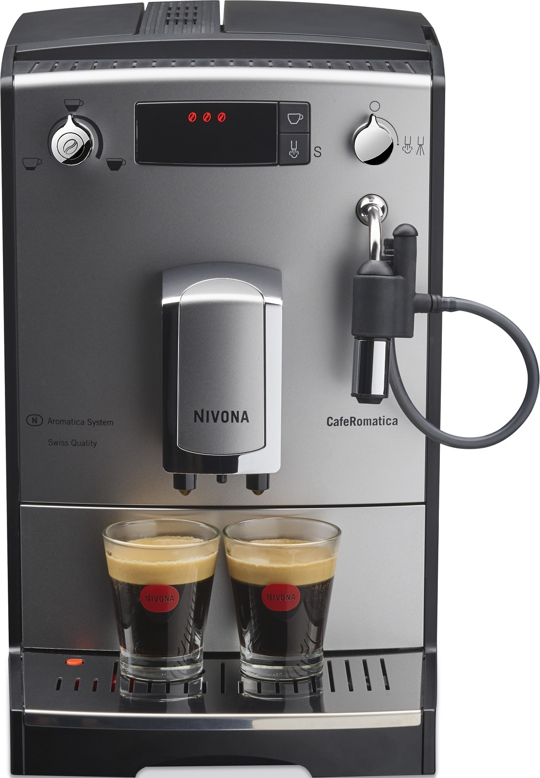Кофемашина Nivona NICR 530, серебристый