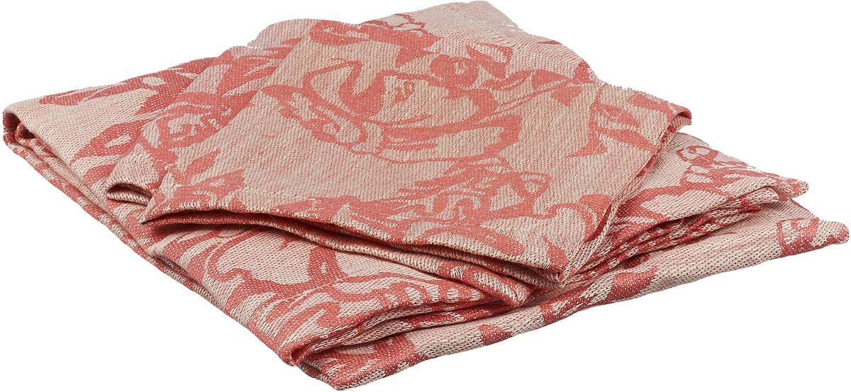 Набор столового белья Гаврилов-Ямский Лен, 710, красный