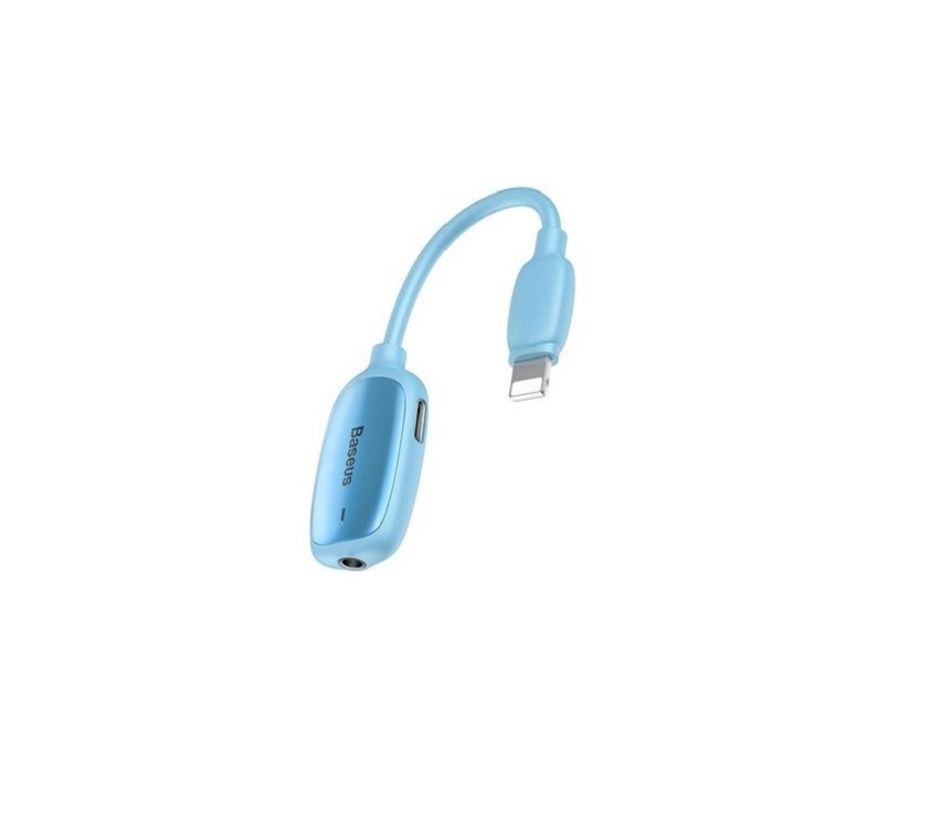 Адаптер-переходник Baseus CALL51-03, синий адаптер переходник baseus catsx f0g серый