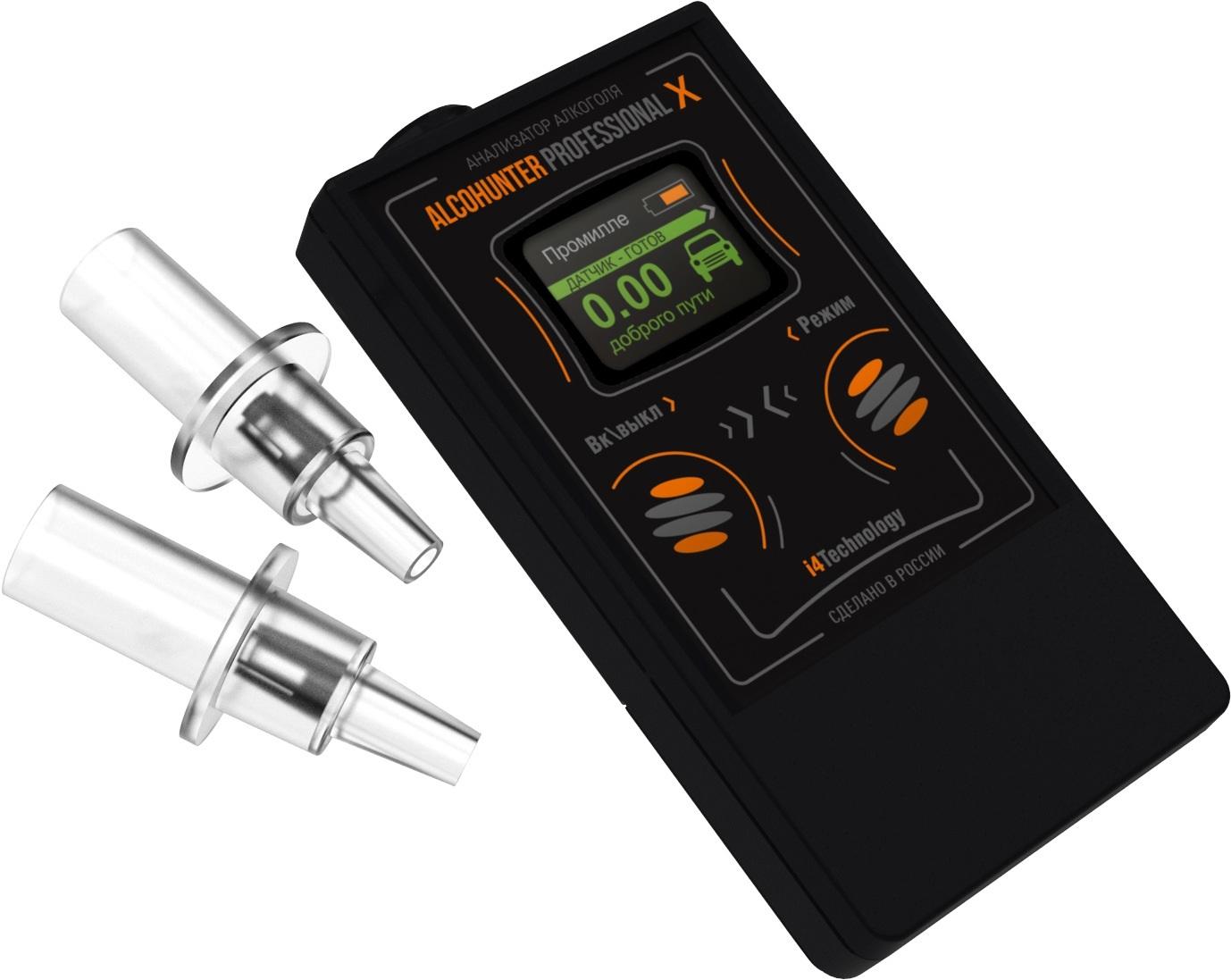 Алкотестер AlcoHunter Professional X алкотестер на предприятии