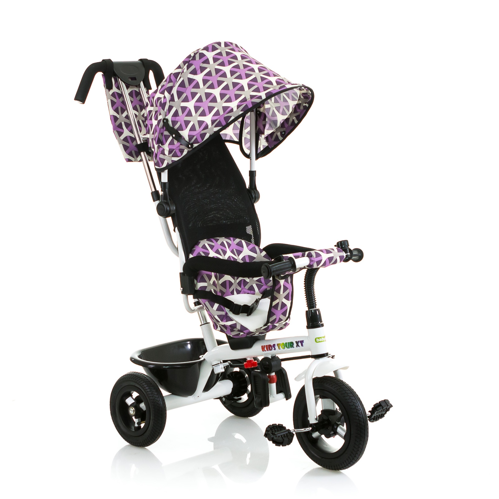 Велосипед BabyHit Kids Tour XT, сиреневый цена