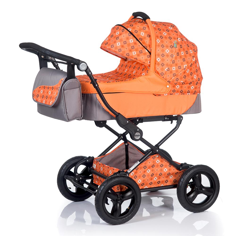 Коляска универсальная Babyhit EVENLY Plus оранжевый коляска 2 в 1 babyhit evenly plus темно зеленый evenly plus dark green