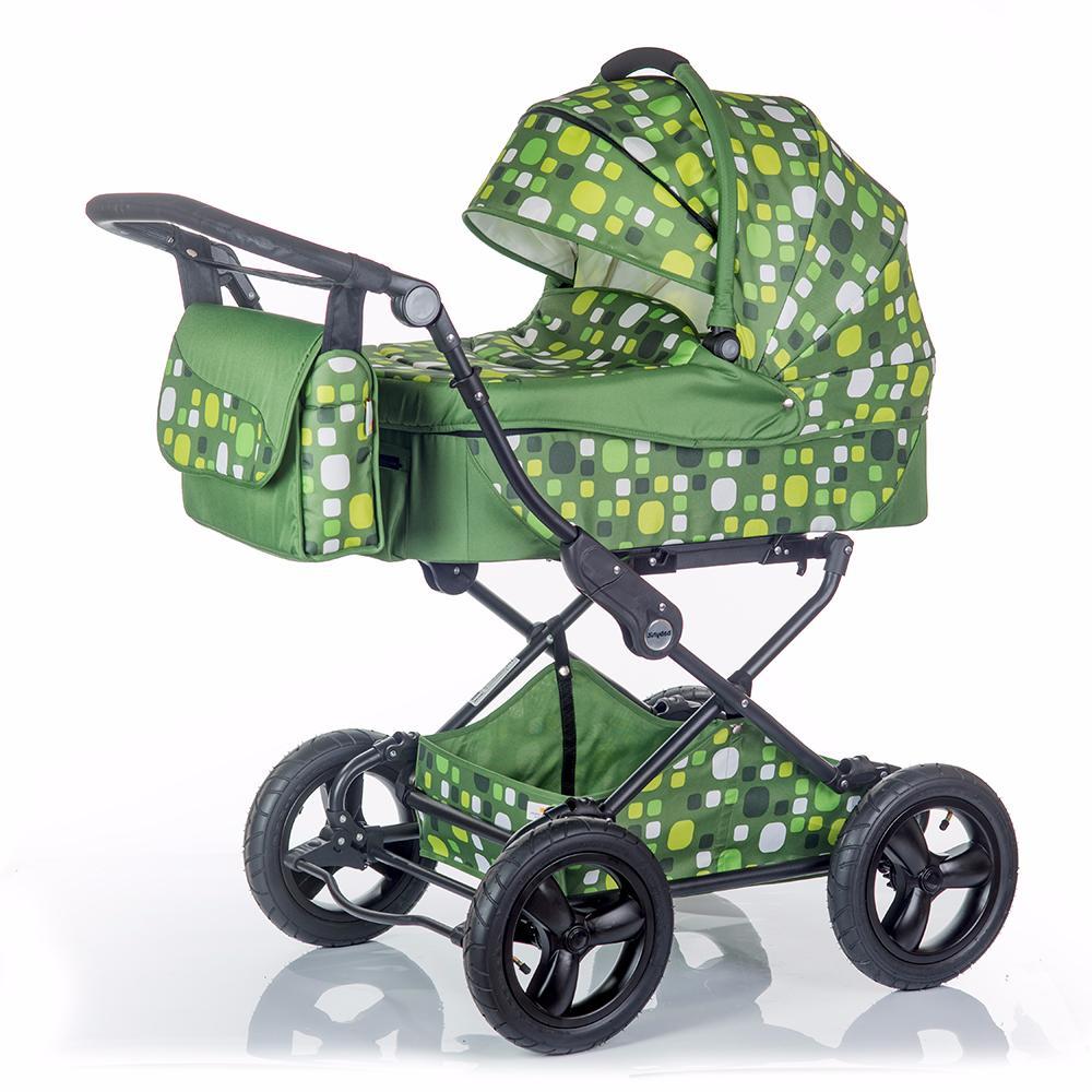 Коляска универсальная Babyhit EVENLY Plus зеленый коляска 2 в 1 babyhit evenly plus темно зеленый evenly plus dark green