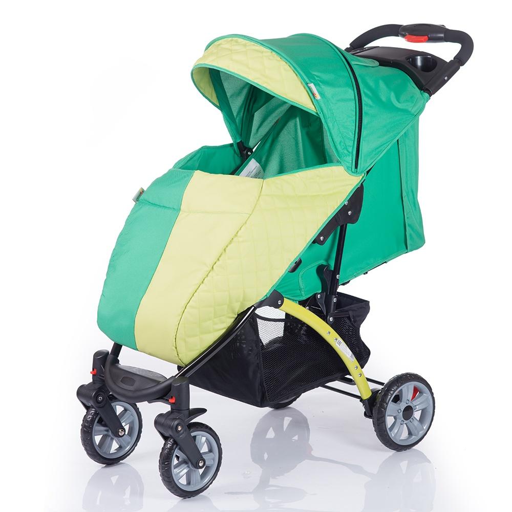 Коляска прогулочная Babyhit TETRA зеленый прогулочная коляска babyhit tetra orange wine