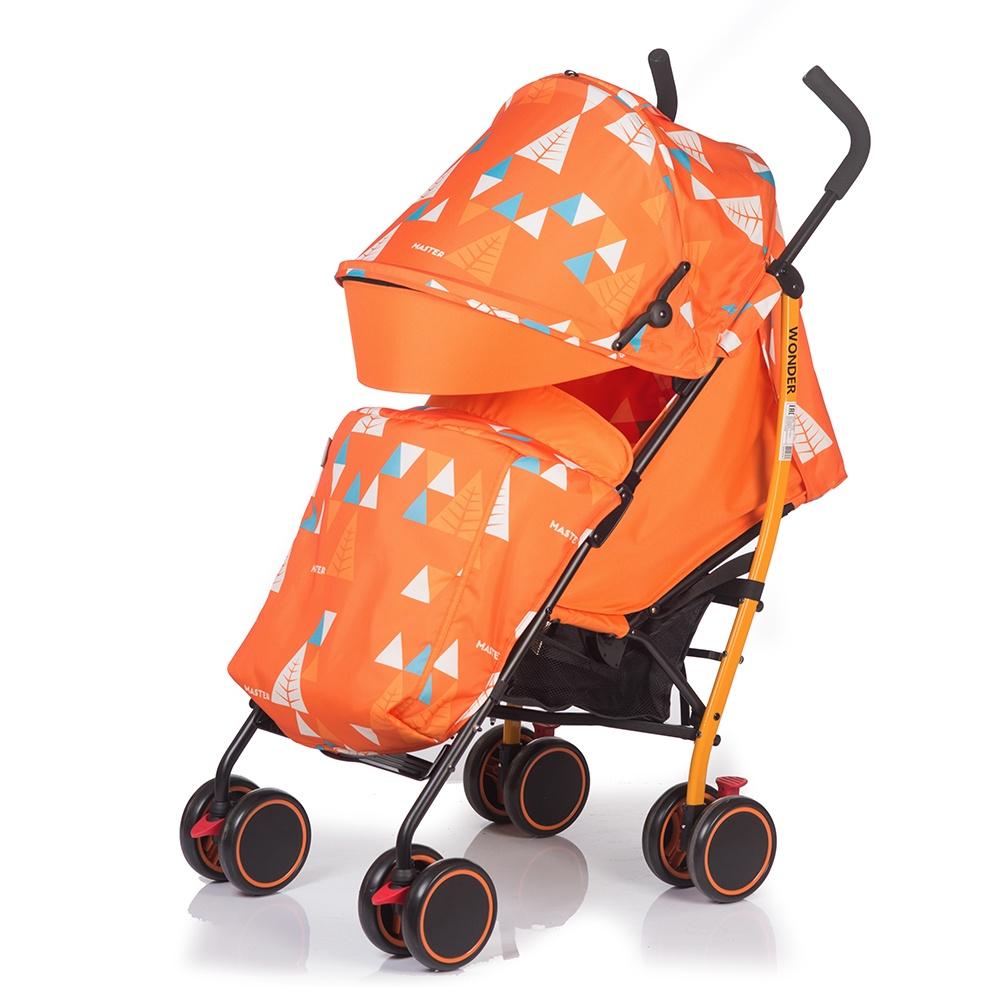 Коляска прогулочная Babyhit WONDER оранжевый прогулочная коляска babyhit wonder orange