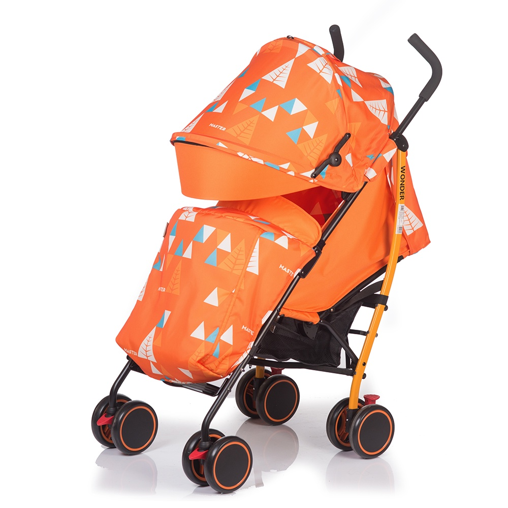 Коляска прогулочная Babyhit WONDER оранжевый коляска трость babyhit wonder тёмно синяя