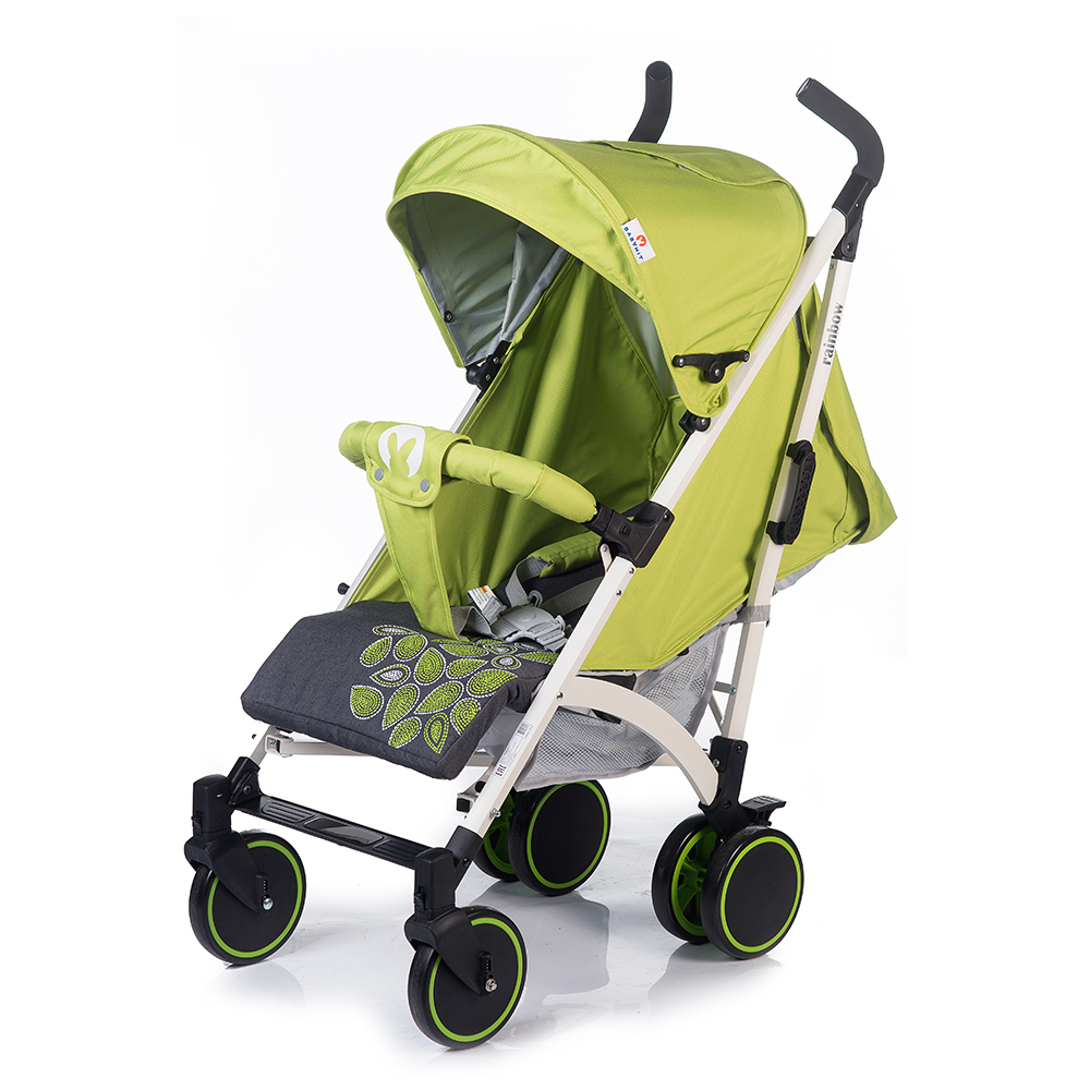 Коляска прогулочная Babyhit RAINBOW LT светло-зеленый, серый коляска прогулочная adamex neonex серый зеленый 36c gl000523946