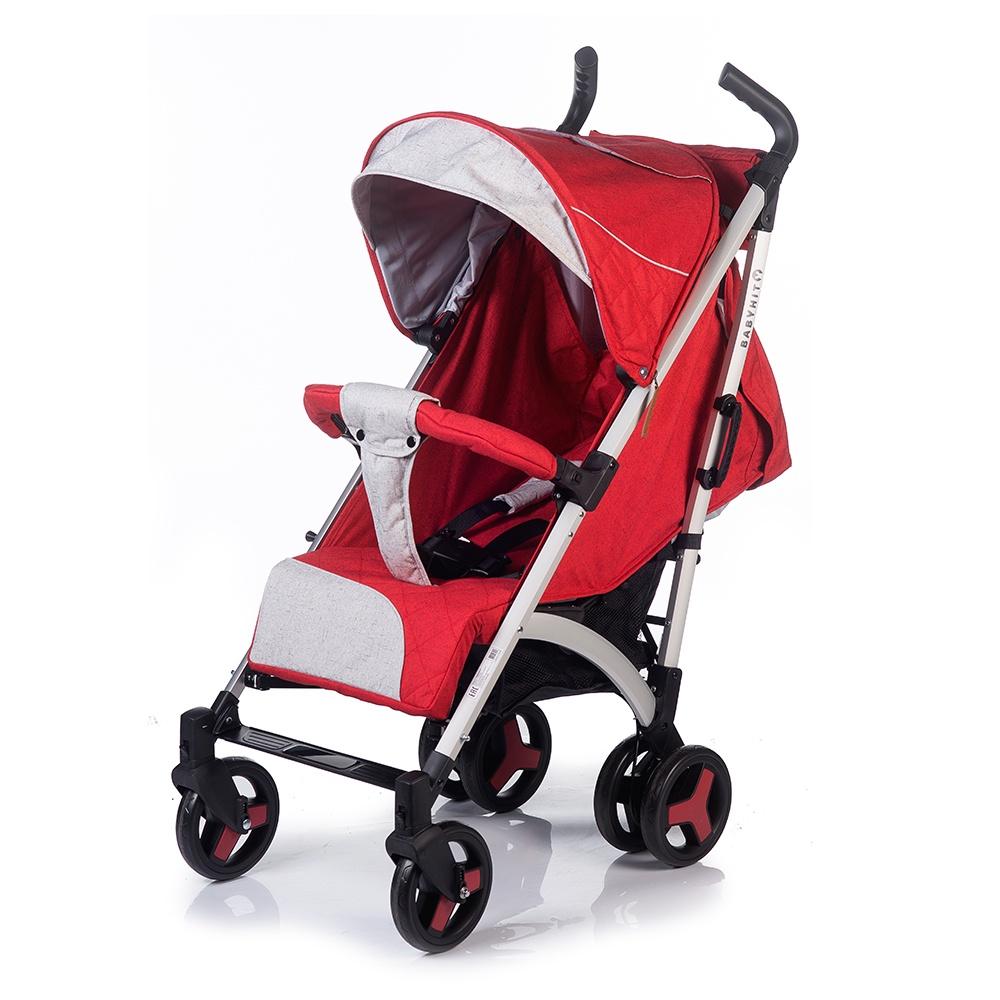 купить Коляска прогулочная Babyhit RAINBOW XT красный онлайн