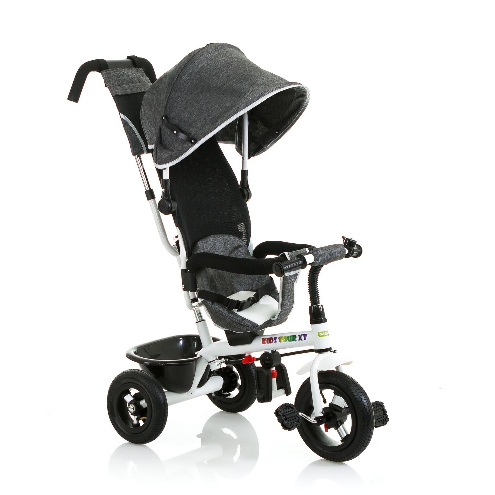 Велосипед BabyHit Kids Tour XT, серый цена