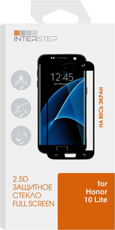 Защитное стекло Interstep 2.5D для Honor 10 Lite, прозрачный
