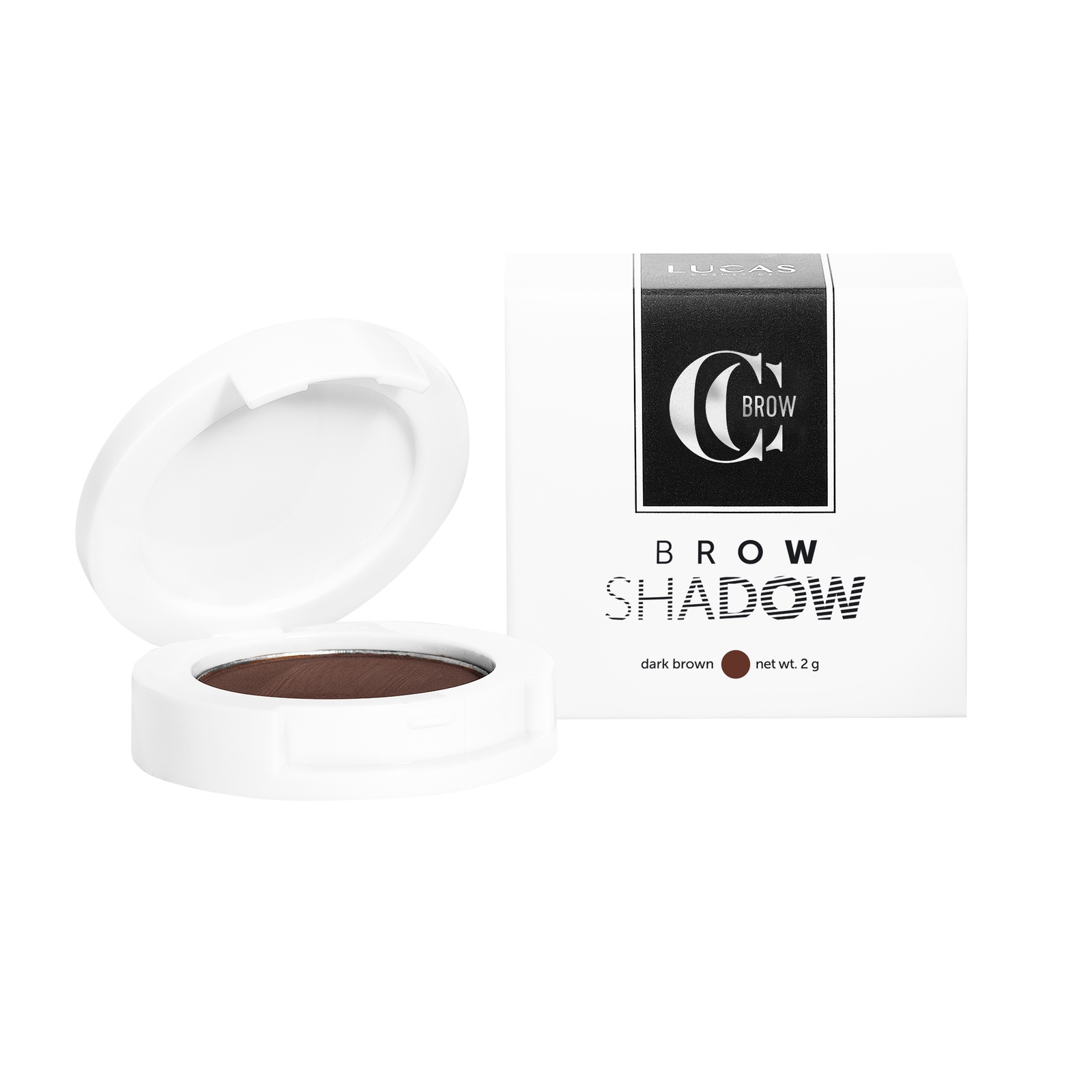 Тени для бровей Brow Shadow карандаш для бровей ardell mechanical brow pencil dark brown цвет dark brown variant hex name 533f3b