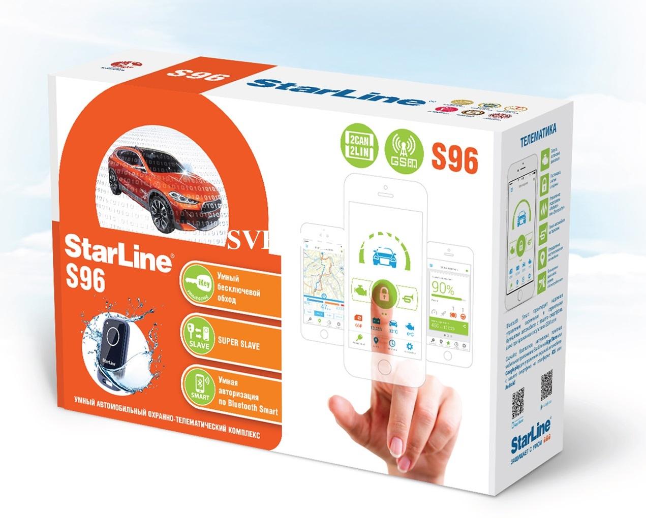 Противоугонное устройство Starline S96 BT GSM