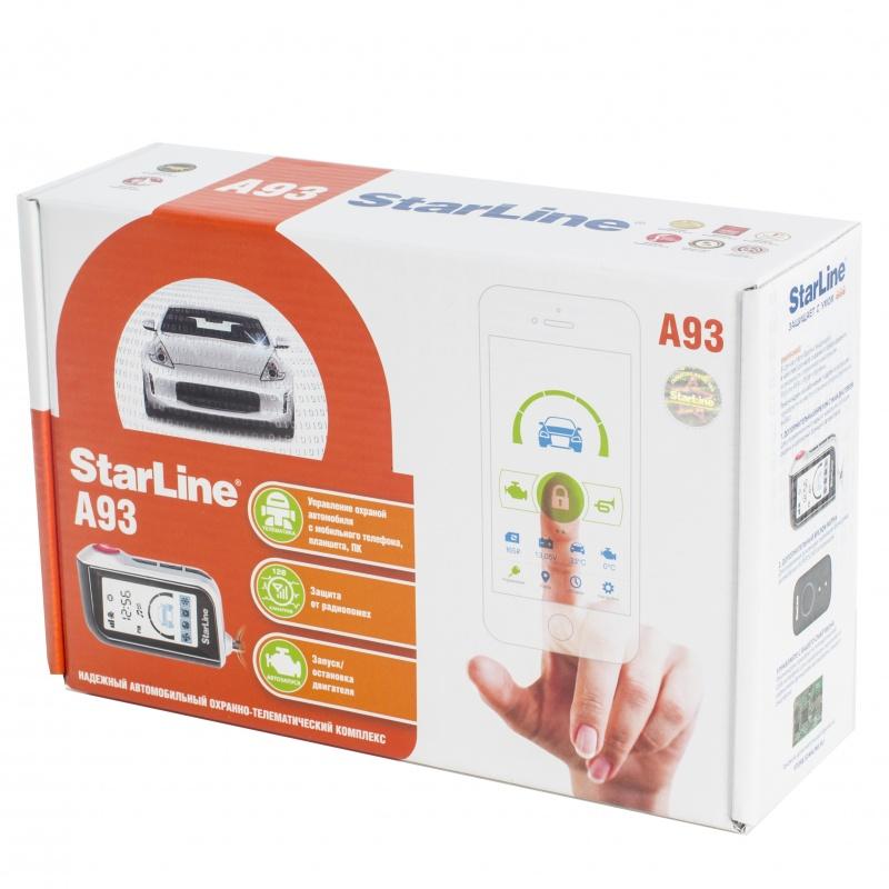 Автосигнализация StarLine E93 2CAN+2LIN цена