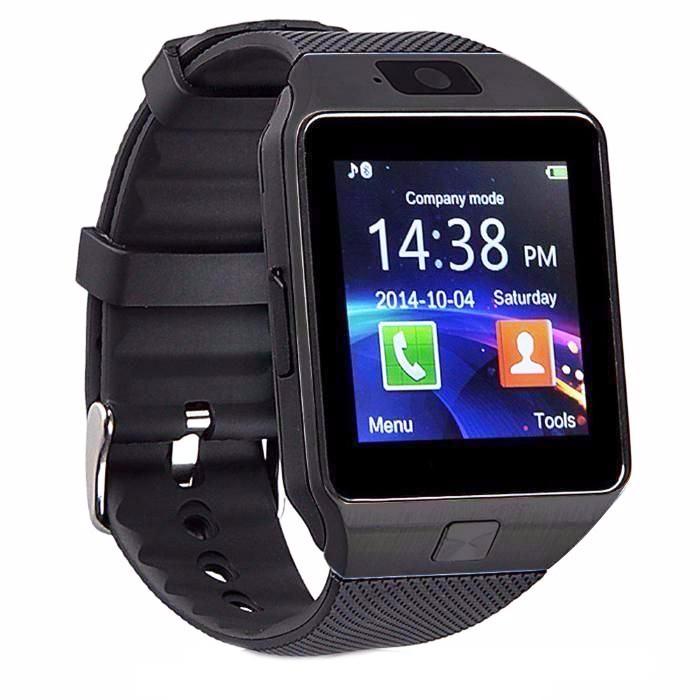 Умные часы DZ09, черный, черно-серый умные часы colmi dz09 bronze