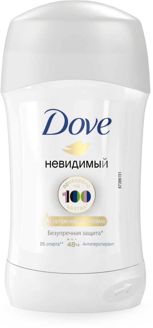 цены Dove Антиперспирант карандаш Невидимый 40 мл